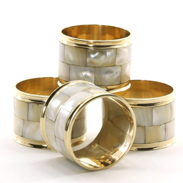 Mother-of-pearl Napkin Rings