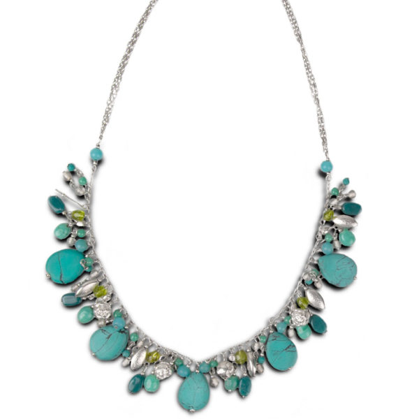 Drops of Turquoise Necklace