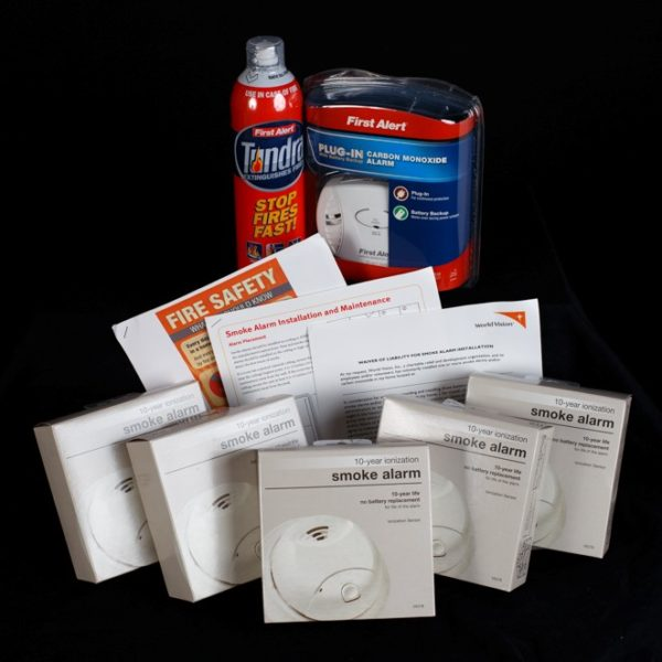 U.S. Family Fire Safety Kit